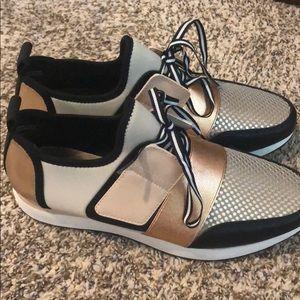 Mossimo Metallic Sneakers